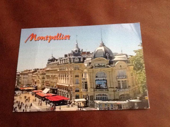 Post aus Frankreich..... 🙂  Unsere Klarinettistin Marle...