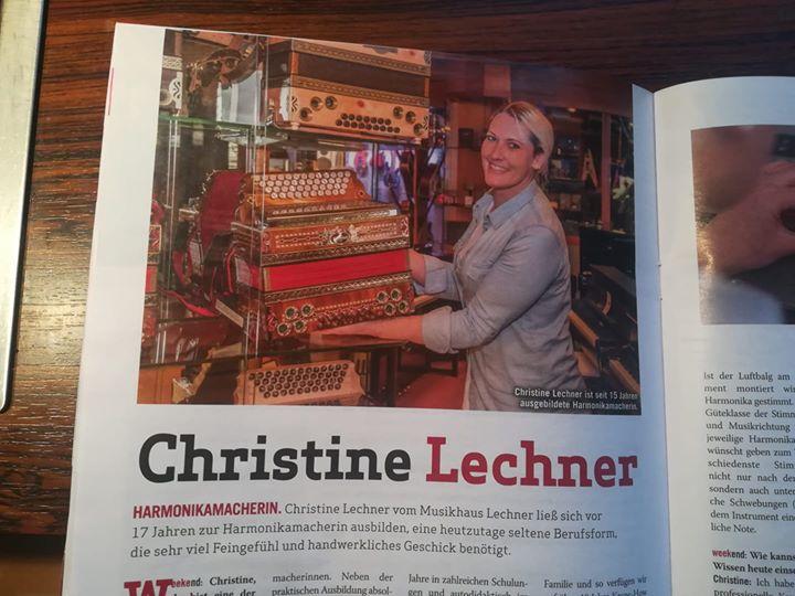 """Heute lacht unsere Christine aus dem """"weekend Magazin""""!..."""